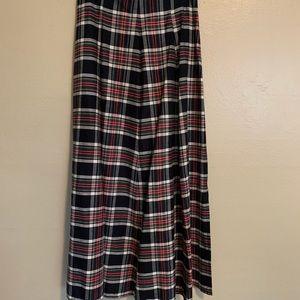 Vintage Skirts - Vintage Plaid Button-Front Skirt | 0